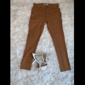 Tan Jeggings by Calvin Klein Jeans